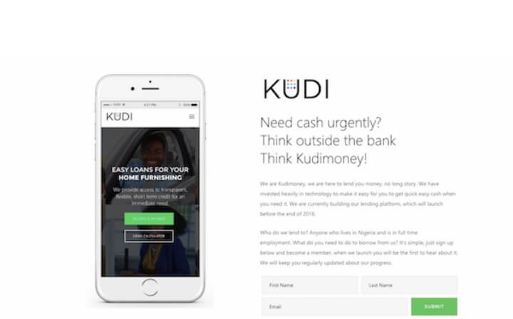 Kudi Money; Save, Spend and Borrow
