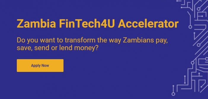 Five Zambian Fintech startups have been selected for the first FinTech4U cohort