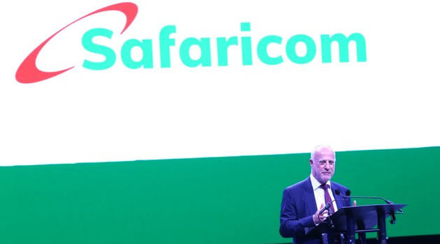 Safaricom has partnered with Ria Money Transfer.