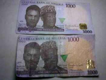 How to know fake naira notes